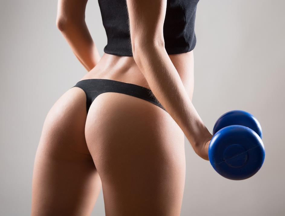 Фото лучших женских фитнес попок #11