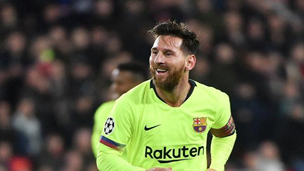 Тренировка глазами Месси: «Барселона» опубликовала уникальный видеоролик