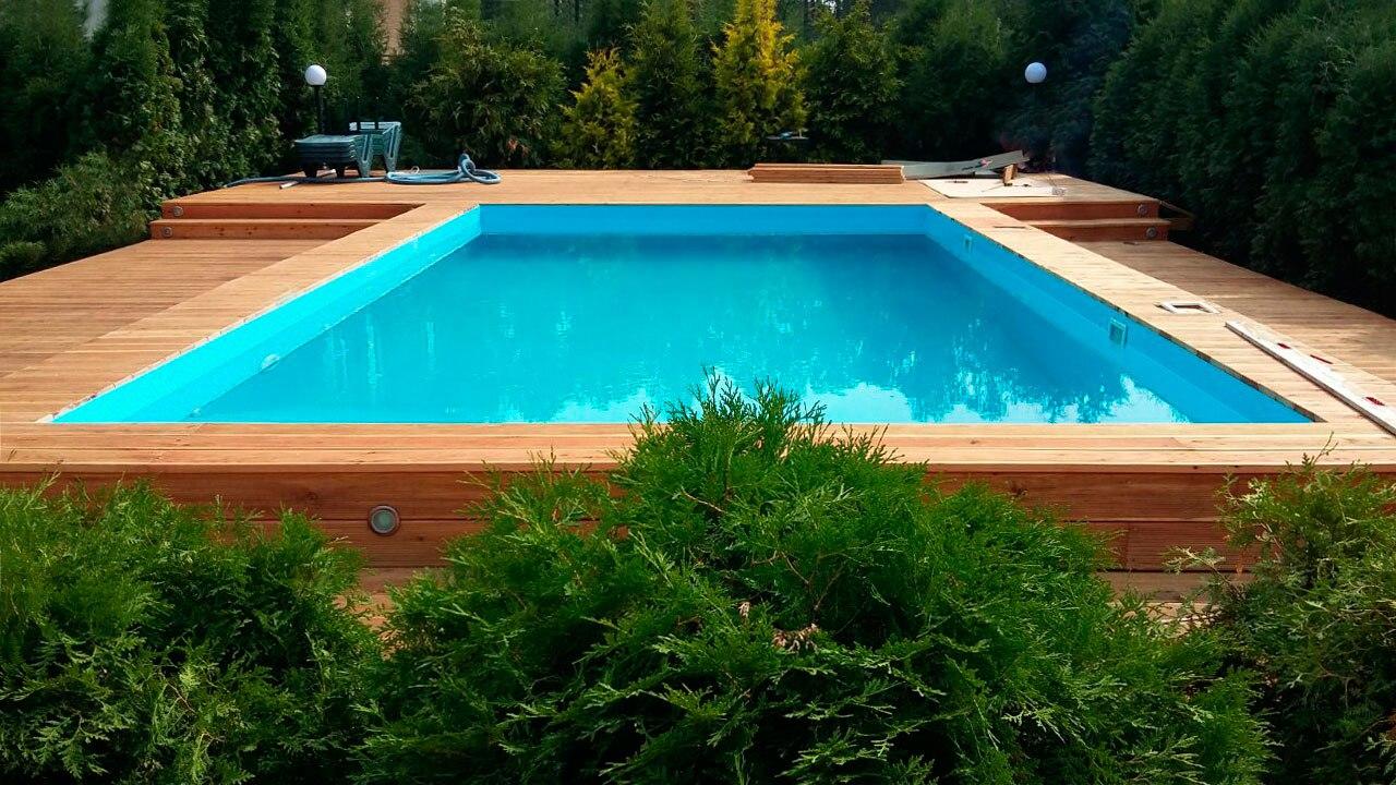 Мастер-класс: бассейн на даче