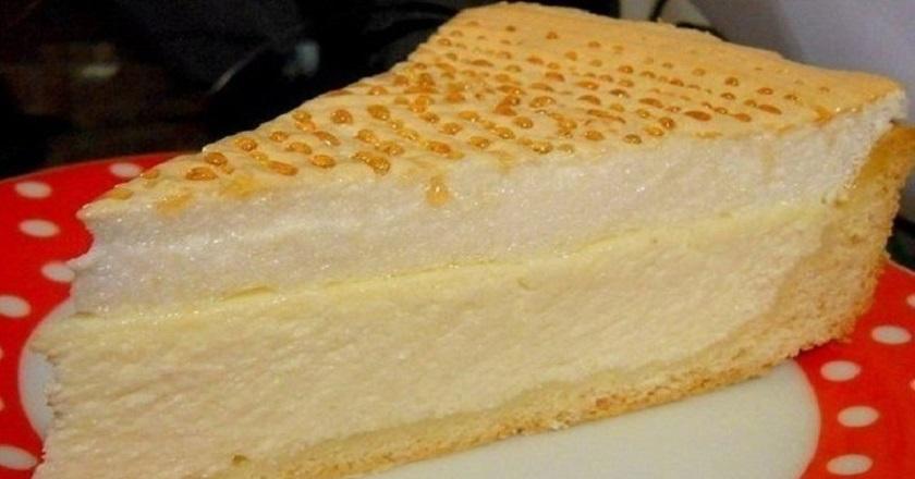 Нежный творожный торт «Слезы ангела». Что вид, что вкус — одно волшебство.