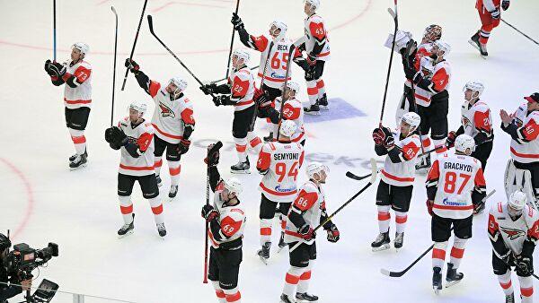 «Авангард» одержал гостевую победу над «Салаватом Юлаевым» в матче КХЛ