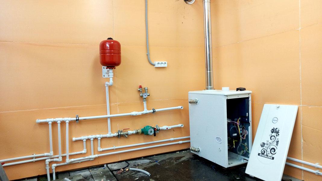 что залить в систему отопления в гараже