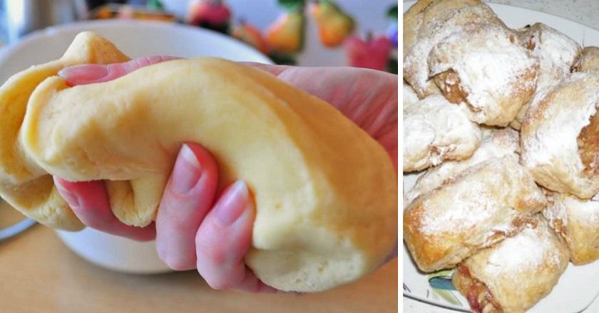 Вкуснейшие рулетики с яблоками на скорую руку. Пошаговый понятный рецепт.