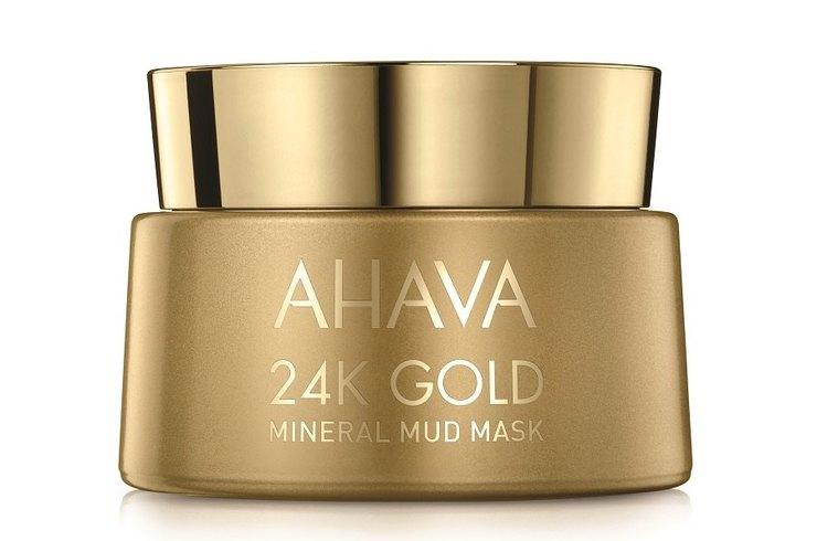 «Золотая» маска 24K Gold Facial Mud Mask от AHAVA