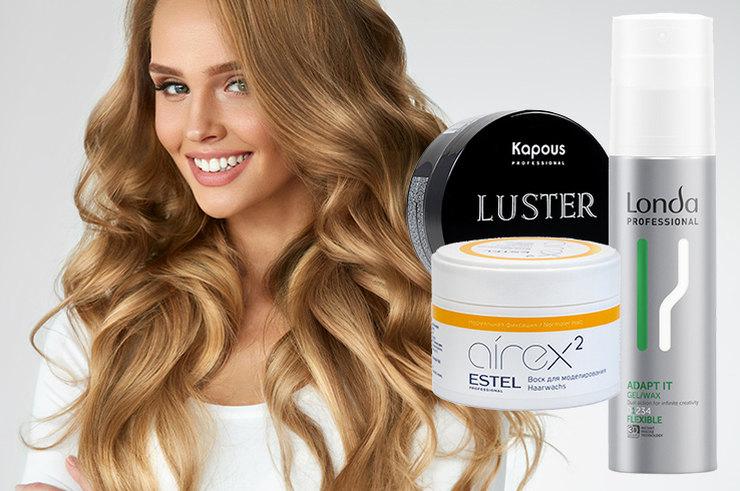 Воск для волос: рейтинг лучших и как ими пользоваться