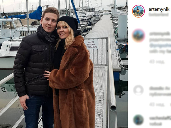 Сын вступился за Валерию, ответив экс-любовнице отца
