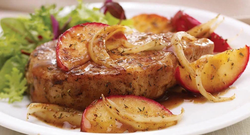 Необыкновенный рецепт свинины с яблоками