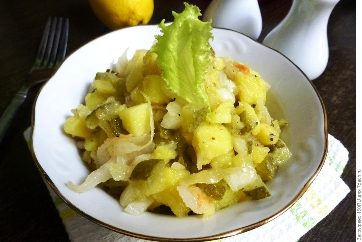 Деревенский салат: рецепт читателя