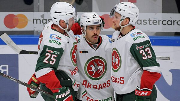 «Ак Барс» обыграл «Салават Юлаев» в матче чемпионата КХЛ