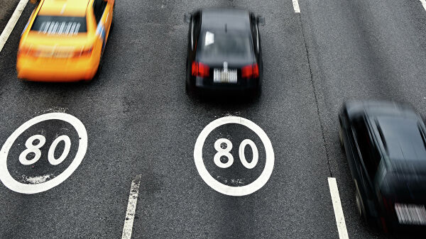 Нештрафуемый порог превышения скорости решили снизить