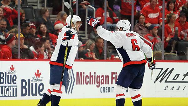 Овечкин помог «Вашингтону» обыграть «Нью-Джерси» в матче НХЛ
