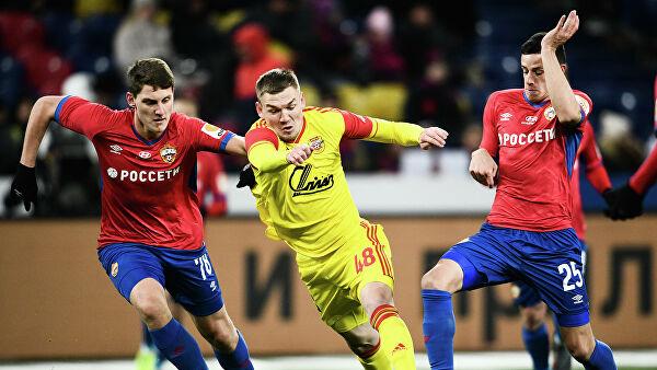 ЦСКА проиграл «Арсеналу» в матче 18-го тура чемпионата России