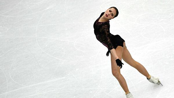 Загитова поделилась видео со своей тренировки
