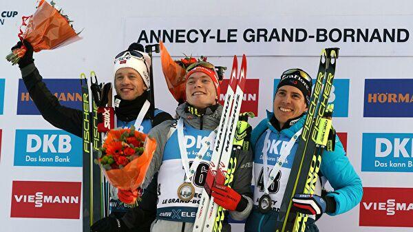 Долль победил в спринте на этапе Кубка мира в Анси, Логинов — 11-й