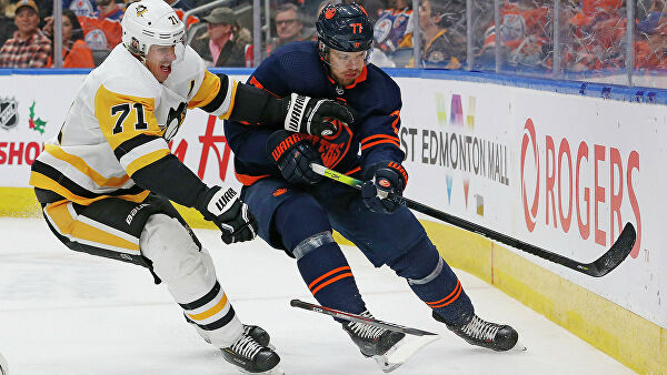 Малкин сравнялся с Могильным по очкам в регулярном чемпионате НХЛ