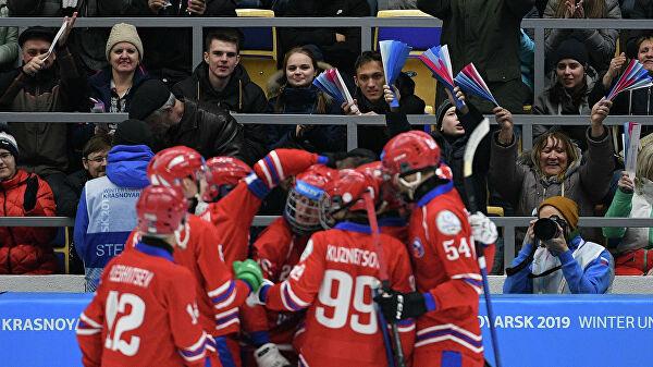 Сборная России по бенди разгромила Норвегию на Турнире четырех наций