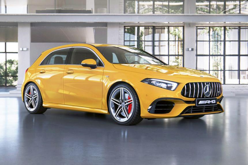 «Горячие» модели Mercedes-AMG A 45 и CLA 45: цены в России