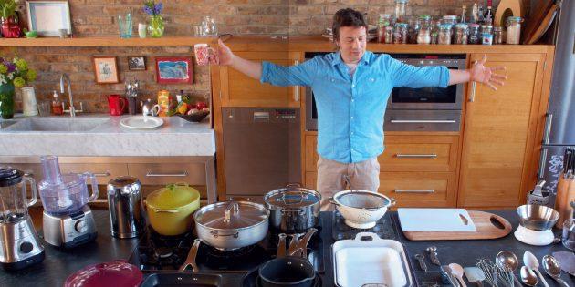 Как готовить быстро: секреты Джейми Оливера