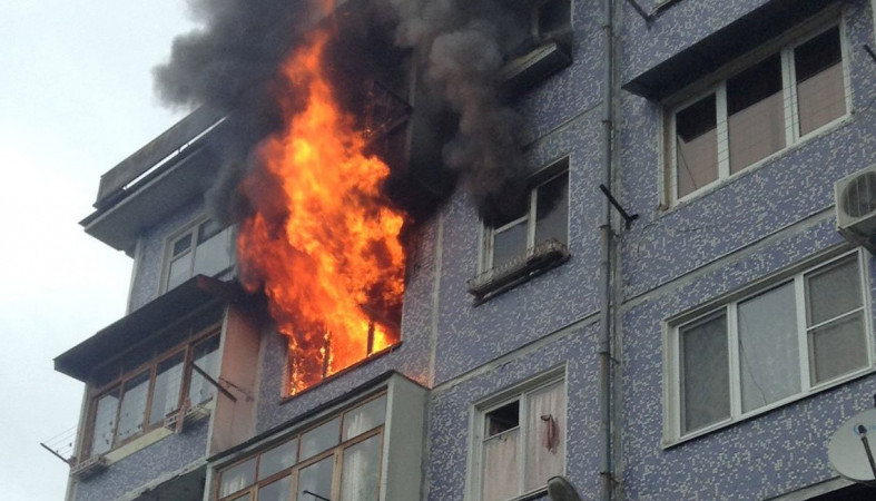 Три пожара произошло в Карелии за прошедшие сутки