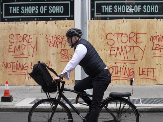 Владельцы американских магазинов обрадовались погромам: рассказ жительницы Нью-Йорка