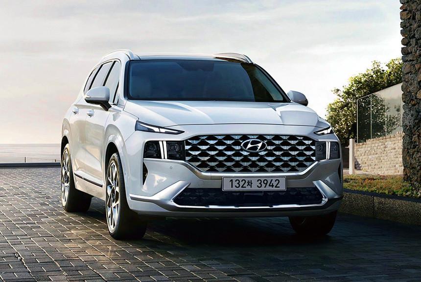 Обновленный Hyundai Santa Fe: турбомотор и «робот»