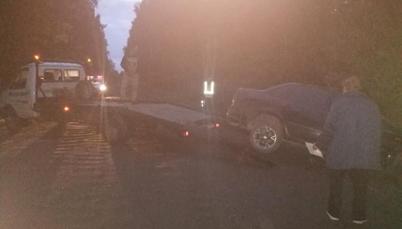 Автомобиль с пьяным водителем вылетел с дороги в Карелии
