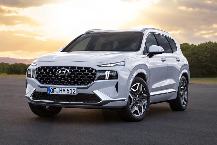 Обновленный Hyundai Santa Fe: гибриды для Европы