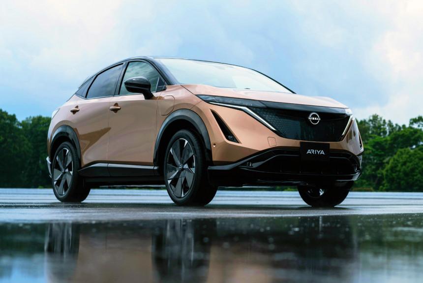 Электрический кроссовер Nissan Ariya: серийная версия