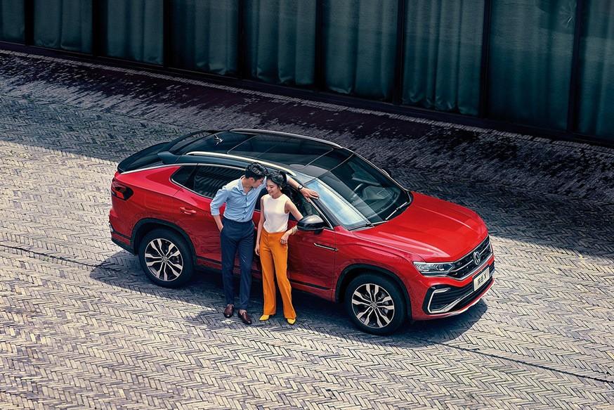 Кроссовер Volkswagen Tayron: теперь и в виде «купе». Родственный Tiguan на очереди