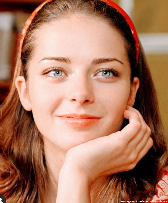 Марина Александрова показала свою естественную красоту