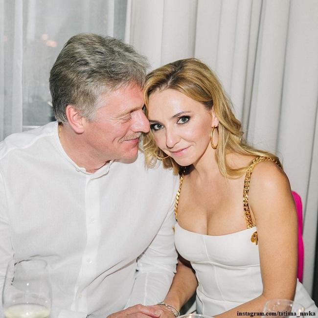 Татьяна Навка с Дмитрием Песковым отметили пятую годовщину свадьбы