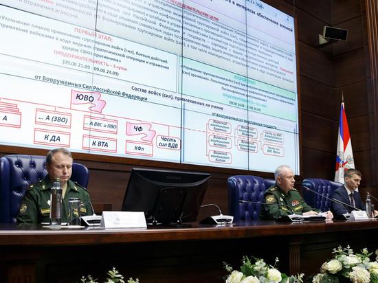 В Минобороны раскрыли подробности стратегических учений Кавказ-2020