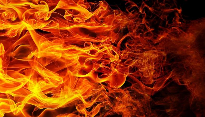 Пожар произошел сегодня ночью в Петрозаводске