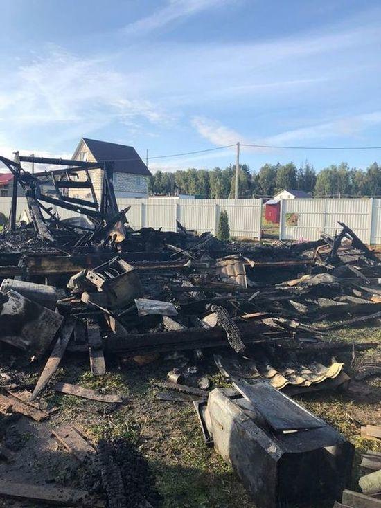 Подробности пожара, где погибли отец и дочь: подвела проводка