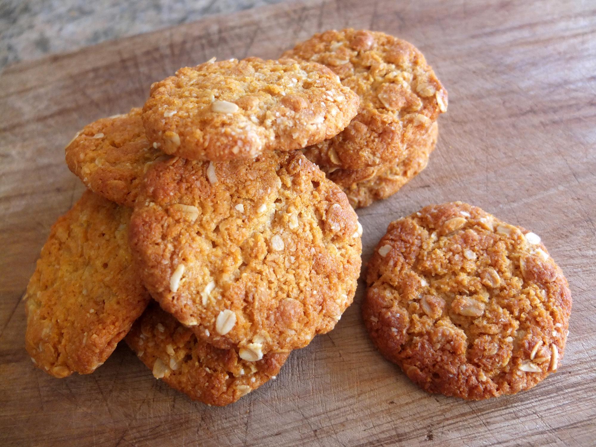 Австралийское печенье анзак