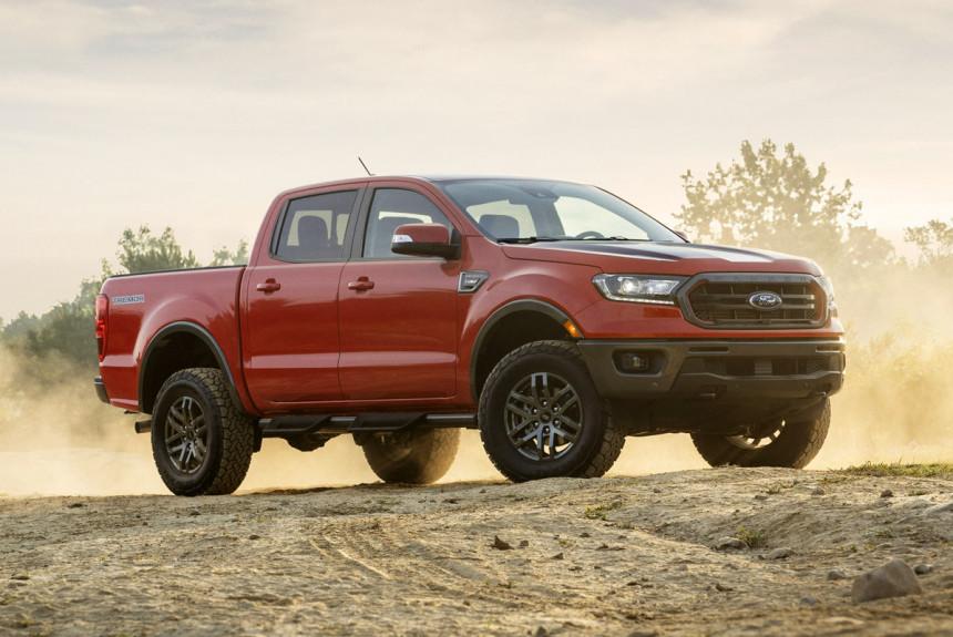 Новый пикап Ford Ranger Tremor: почти Raptor