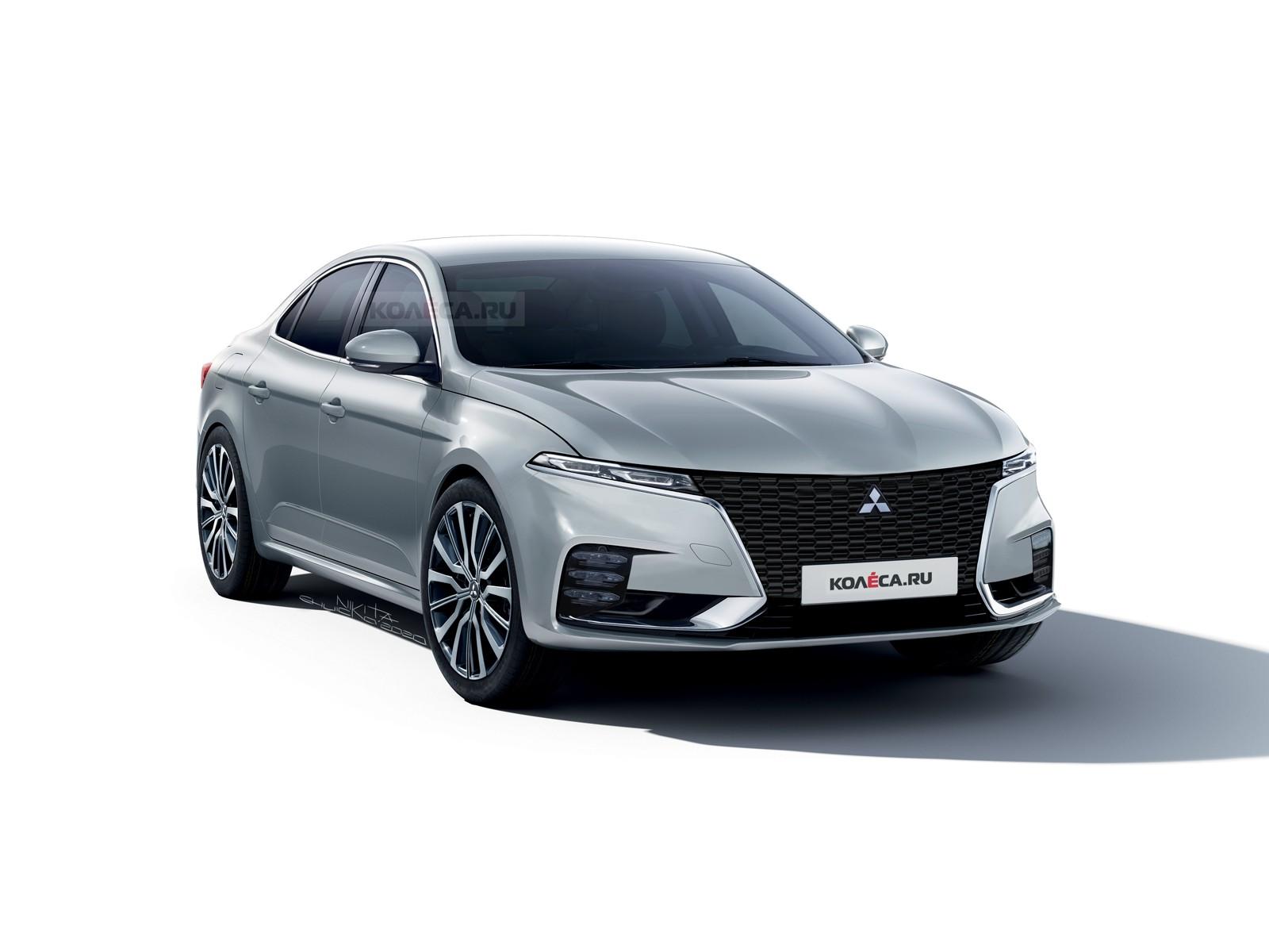 Новый Mitsubishi Galant: каким он может быть