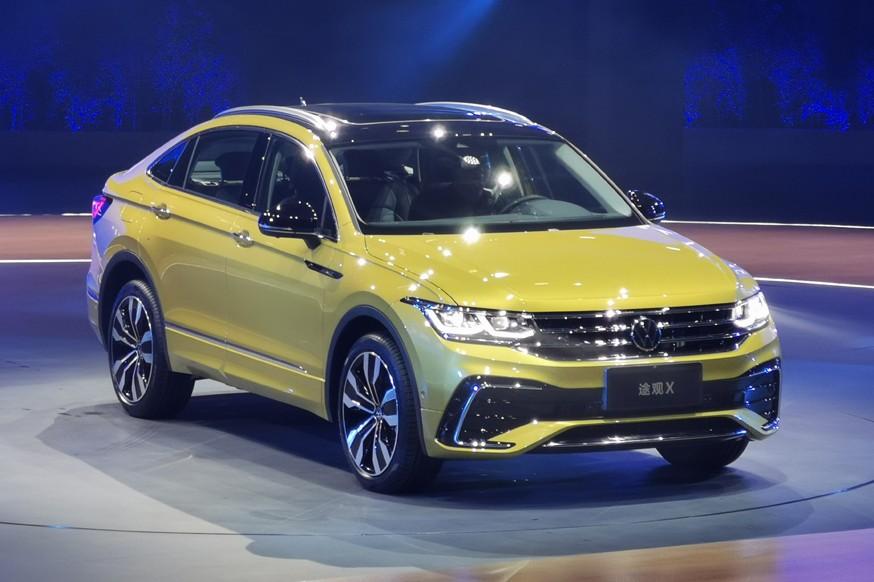 Volkswagen полностью рассекретил купеобразный кроссовер Tiguan X