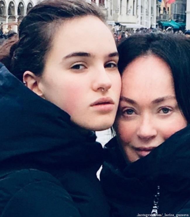 Дочка Ларисы Гузеевой перестала следить за собой