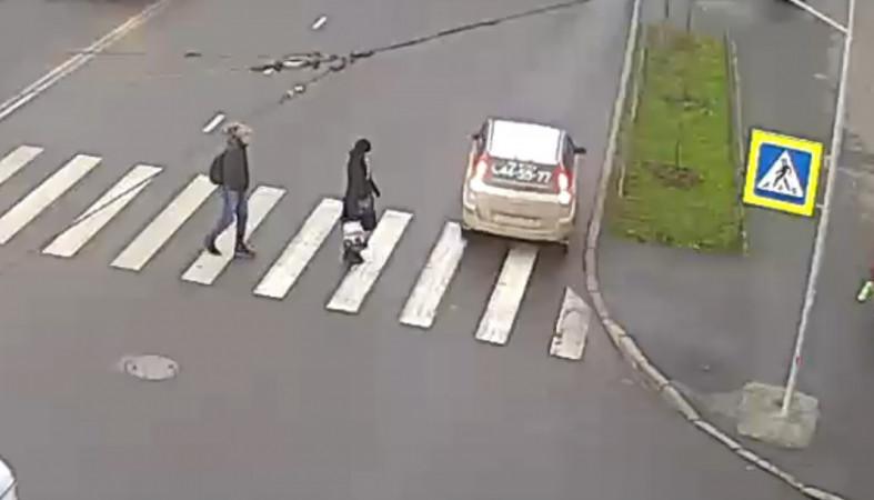 В Петрозаводске найден водитель, грубо нарушивший ПДД