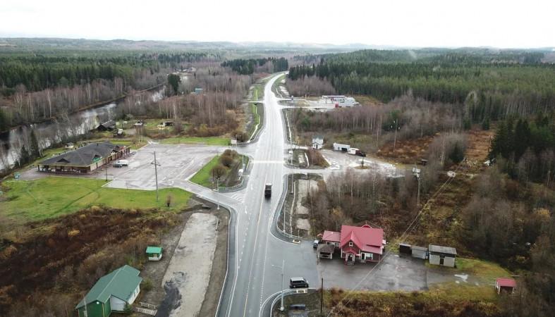 Завершен капитальный ремонт подъезда к МАПП «Вяртсиля»