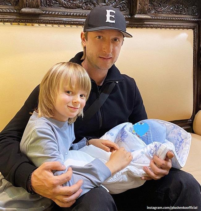 Евгений Плющенко рассказал об изменниях в своей жизни в связи с появлением новорожденного сына