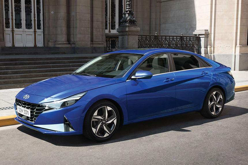 Hyundai Elantra нового поколения: версии для России