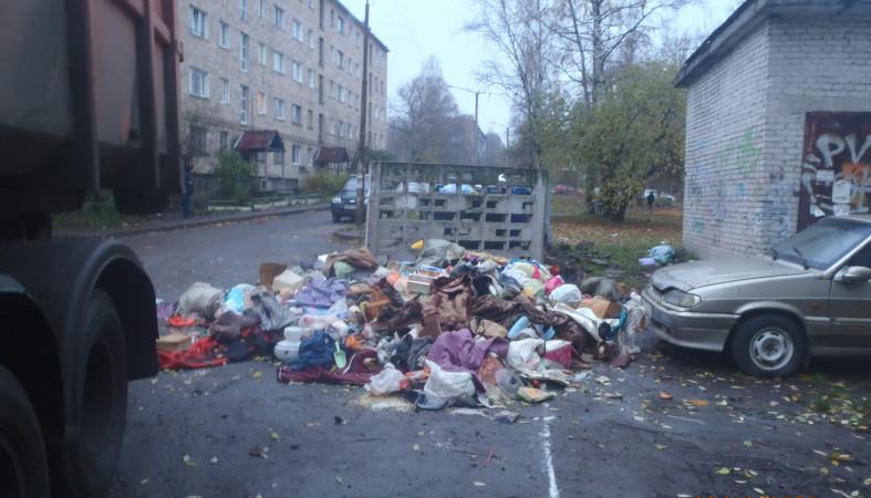 Стихийную свалку ликвидировали в Петрозаводске