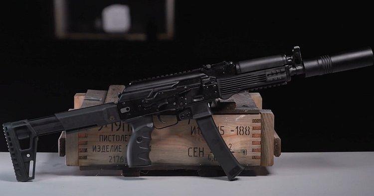 Калашников представил новый пистолет-пулемет для ФСБ