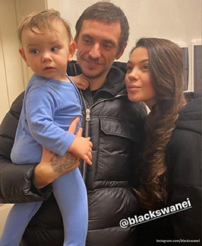 Елена Ильиных трогательно поздравила Сергея Полунина с днем рождения и подарила необычный торт