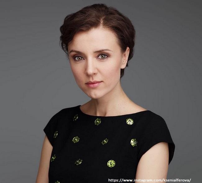 Ксения Алферова сфотографировалась в одних трусиках