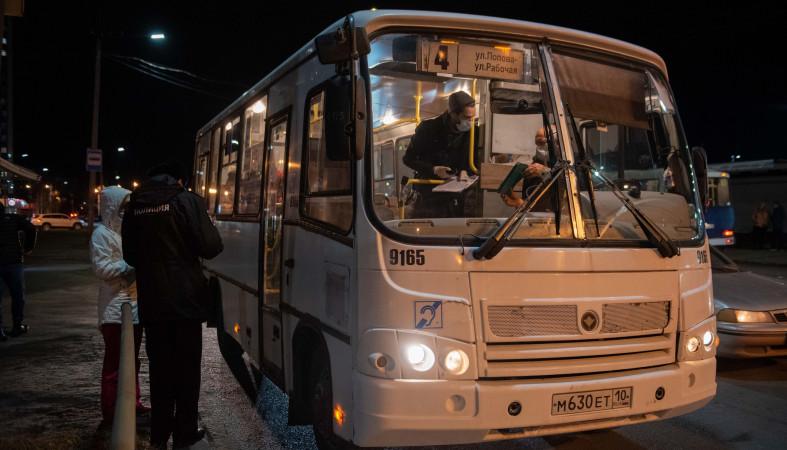Глава Карелии ослабил ограничительные меры на транспорте
