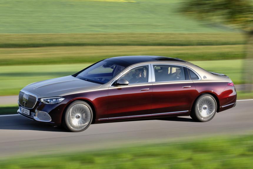 Новый Mercedes-Maybach S-класса: Z вместо X