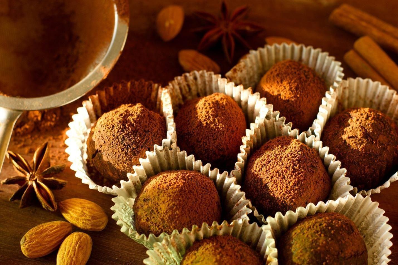 Трюфели «двойной шоколад»